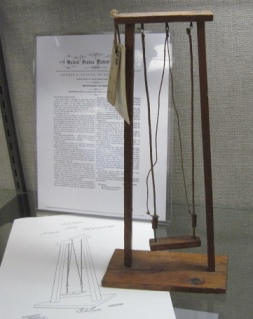Improvement in Swing, 1868, USPN# 82,998